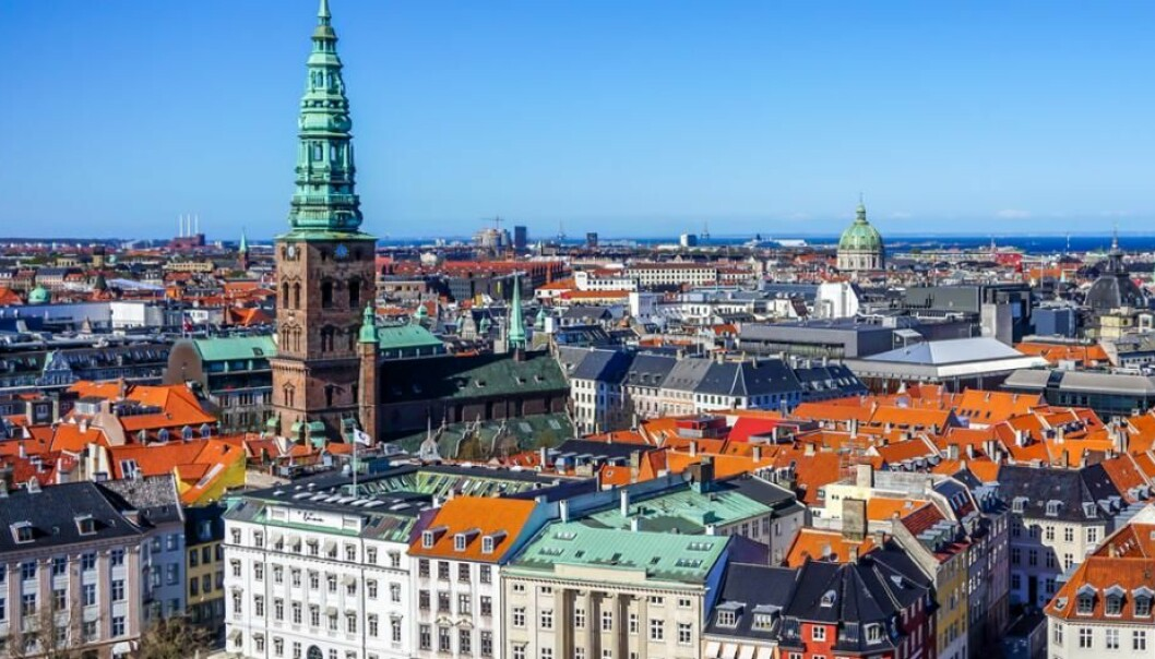 Central Copenhagen does not have so many green spaces (Photo: Shutterstock)