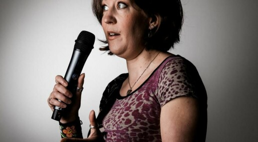 The researcher who became a stand-up comic