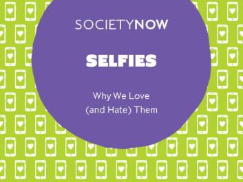 New book, Selfies: Why We Love (and Hate) Them. (Photo: Katrin Tiidenberg)