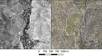 Once lost archaeology revealed by satellite images and aerial photography