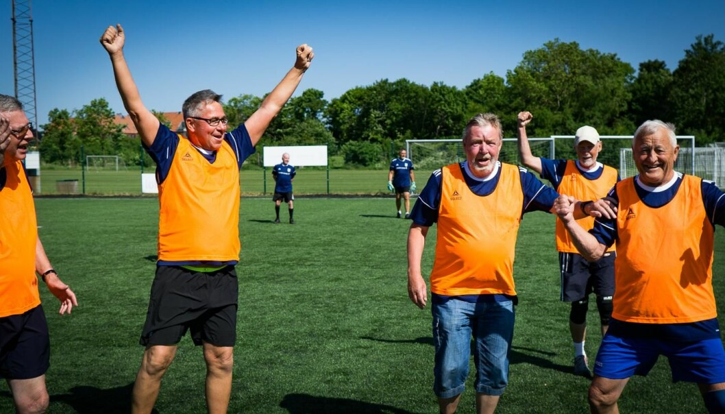 Playing football could reduce the likelihood of developing type 2 diabetes among prediabetic patients. (Photo: Peter Krustrup)