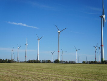 Wind turbines in Feldheim, Germany. It is the first energy self-sufficient settlement in the country. (Photo: Shutterstock)