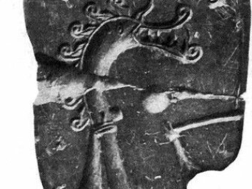 The mould found in 1887. (Picture: Kalmring et al. / Antiquity / Arbman 1939: 123)