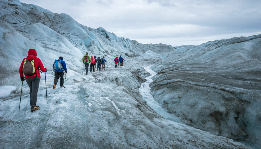 Hiking tour on the Greenland Icecap near Kangerlussuaq (Photo: Shutterstock)