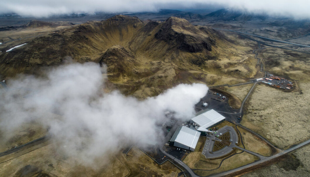 Hellisheiði Geothermal Power Plant, Iceland. (Photo. Shutterstock)