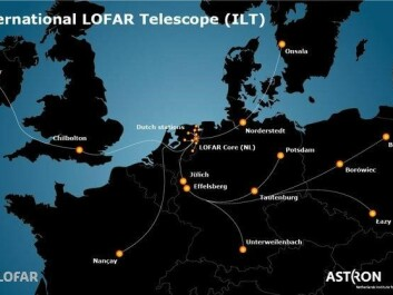 The 51 antenna stations that make up the LOFAR Network. (Illustration: LOFAR/Astron)