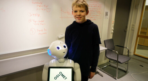 Researcher wants to teach children to program robots