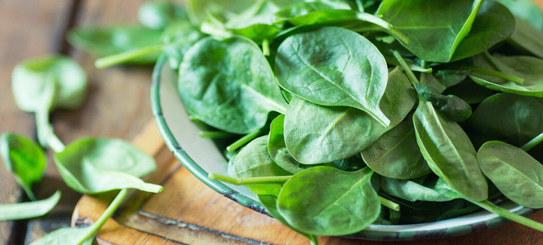 Eat your spinach, it's good for your heart