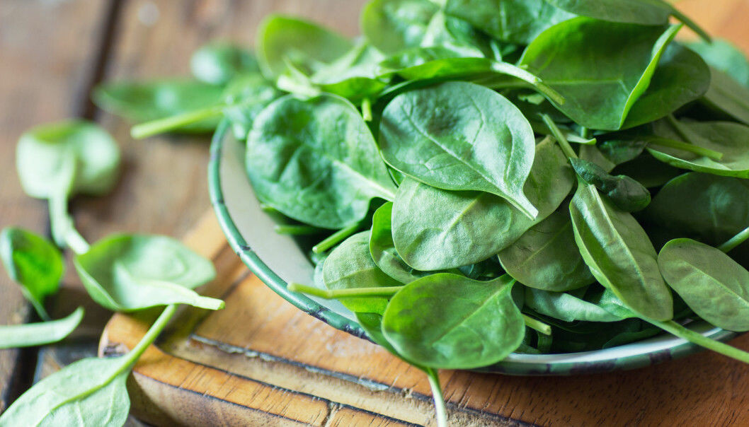 Patients with heart failure often suffer from long-term inflammation. Research from Sweden suggests that vegetables such as spinach can curb inflammation. (Photo: Shutterstock)