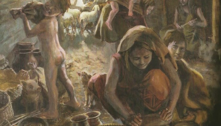 Research-based cookbook for cavemen and Vikings