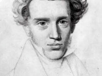 The Danish philosopher Søren Kierkegaard (1813-1855) thought deeply about human existence. At the time when he lived, his country had been affected by Protestant ideology for centuries. (Illustration: Niels Christian Kierkegaard)