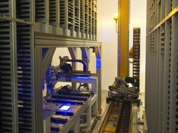 The biobank has a 19-metre long freezer with room for seven million samples, and the latest and best in robot and laboratory equipment. (Photo: SSI)