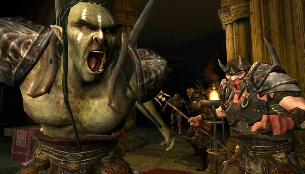 One of the games that the Swedish researchers have studied is 'Lord of the Rings Online'. Here they looked at how the gamers fared against the strongest opponents in the game.