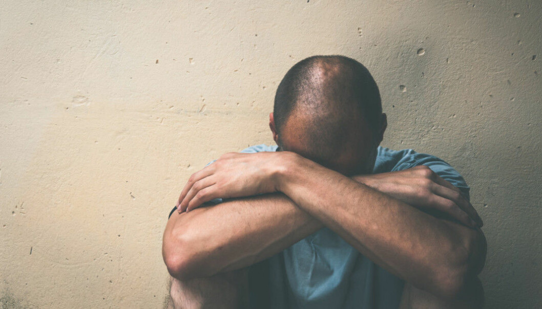 Of 88 undocumented migrants in a Swedish study, 71 per cent showed signs of depression and 58 per cent of severe depression. (Photo: Shutterstock / NTB scanpix)
