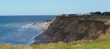 Is the Danish west coast disappearing?