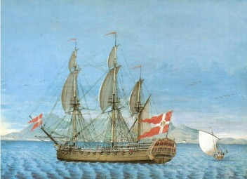 Suicide and ship hijacking: Join the Asian Company on a dramatic journey to India in the 1700s