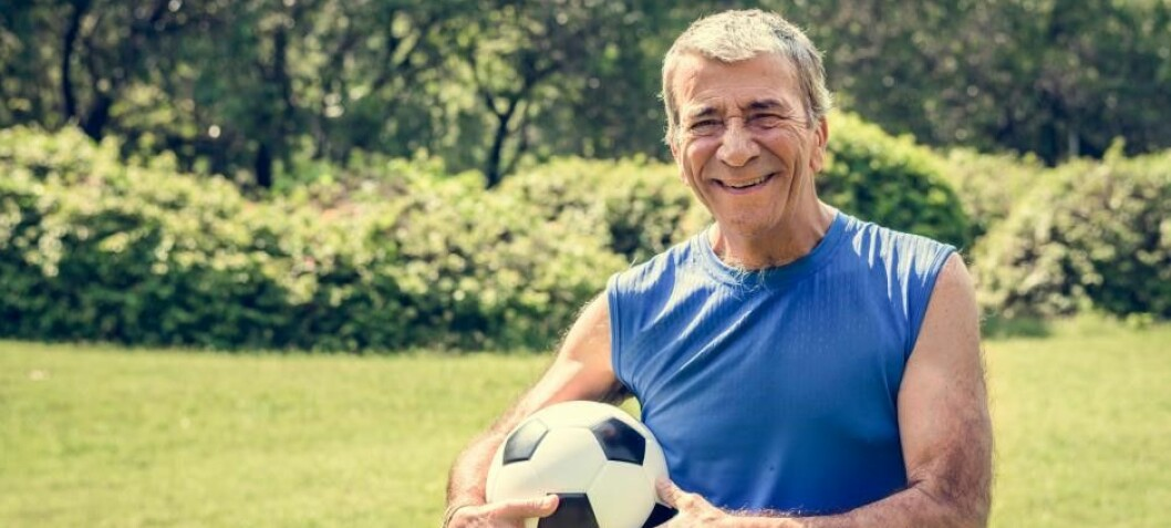 """In excellent physical shape"": Football-playing 70-yr-old men have cells that are up to 11 years younger"