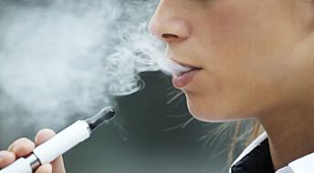 Cardiologists sound the alarm about e-cigarettes