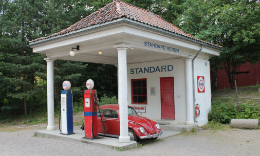 When Norwegian petrol stations looked like Greek temples