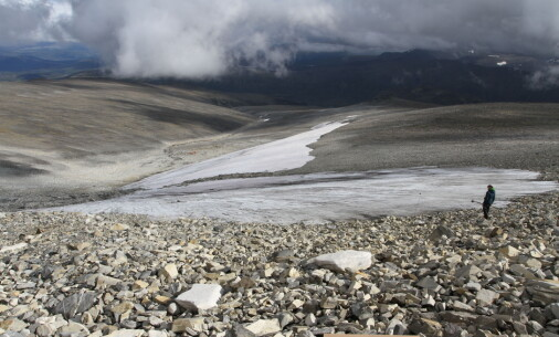People have lost arrows and other objects at this spot in Jotunheimen — for more than 6000 years