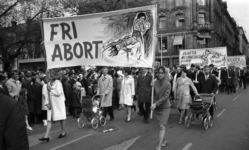 The abortion debate hasn't always been focused on the fetus' right to life