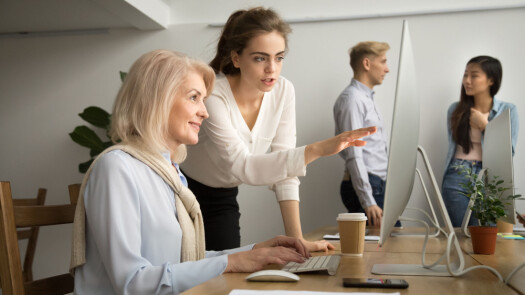Older employees are not given as advanced work tasks as their younger colleagues